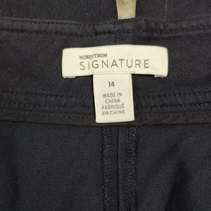 Nordstrom Pants - Nordstrom Signature Wide Leg Navy Pants Size 14